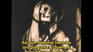 Marilyn Manson - The Death Song (live with bible speech) (subtitulos español)