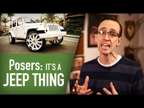 Too Many Posers Drive Jeeps: The Skinny with Craig Cole