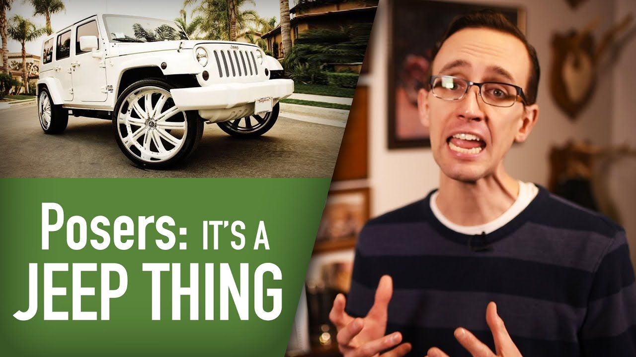too many posers drive jeeps the skinny with craig cole youtube. Black Bedroom Furniture Sets. Home Design Ideas