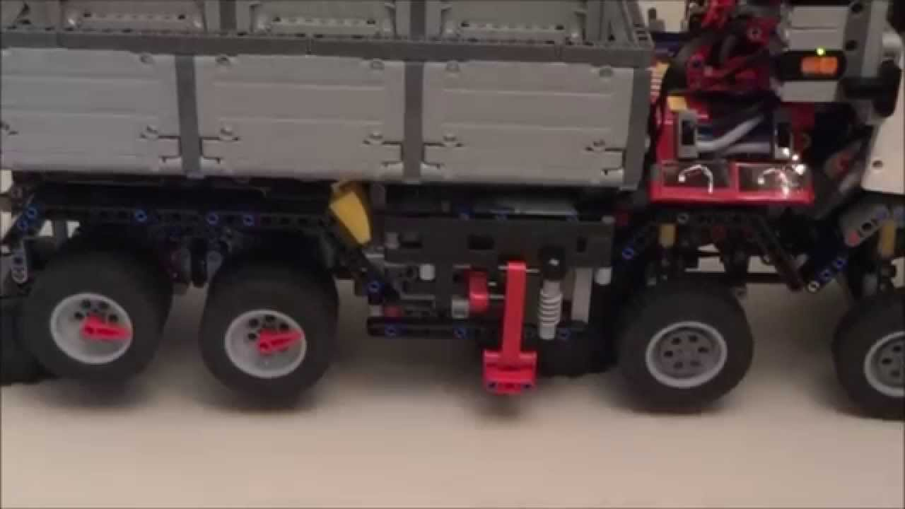 lego technic 42043 mercedes benz arocs 3245 part 3 youtube. Black Bedroom Furniture Sets. Home Design Ideas