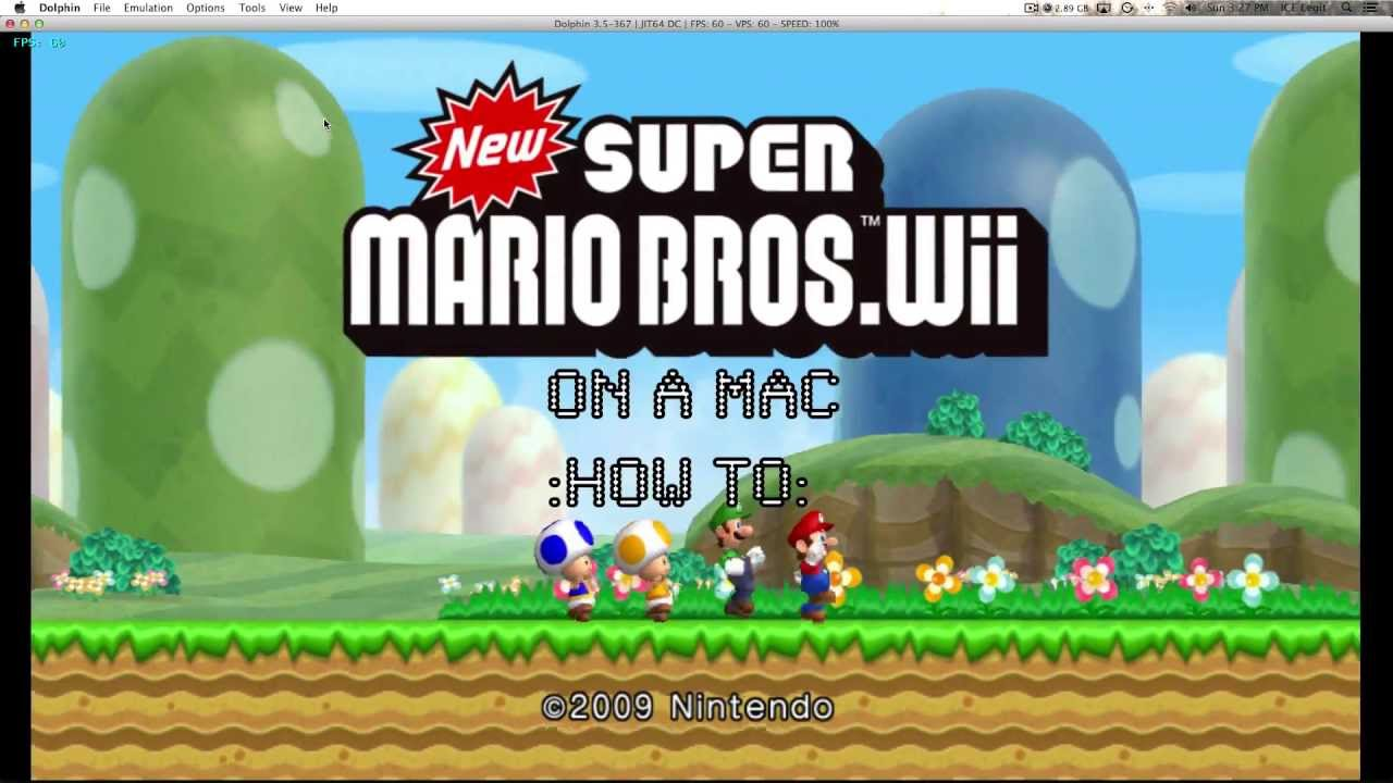 How To Run Wii & GameCube Emulator on MAC or PC