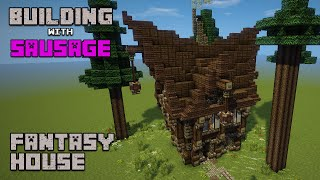 Minecraft Building with Sausage Fantasy House 1 YouTube