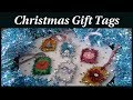 Christmas 2018~Making Cute & Easy Glitter Foam Christmas Gift Tags~ DIY