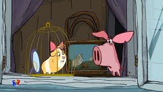 Поросёнок мультфильм | Фильм 4-й - Морская свинка | мультфильмы для детей | Piglet | The guinea pig