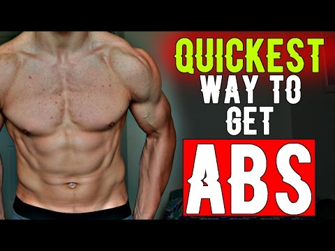 HOW TO GET ABS QUICK | EASY WAY | AT HOME FOR TEENAGERS