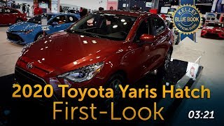 2020 Toyota Yaris Hatchback - First Look