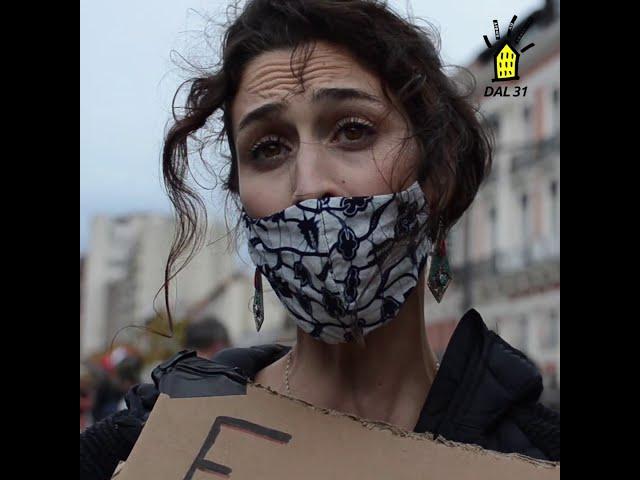 7 nov- Manifestation : À Toulouse, le DAL se mobilise