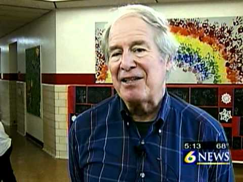 WJACtv- Author and Illustrator Steve Kellogg visits Westmont Hilltop Elementary School