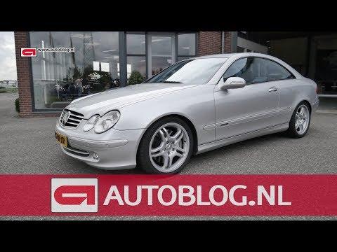 Mijn auto: Mercedes CLK 500 van Antoon