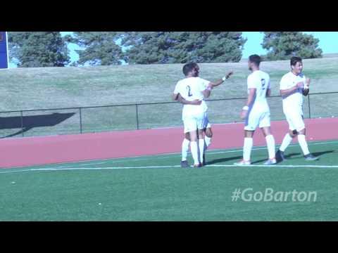 BARTON MEN'S Soccer WIN vs. Northwest Kansas Technical College
