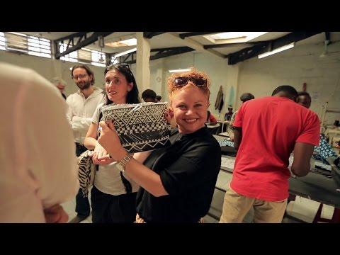 MIMCO x ITC Ethical Fashion Initiative: Afrigraphico, Kenya, 2015