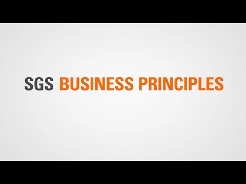 SGS Business Principles