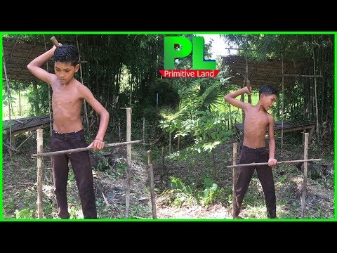 Primitive Land,Preparing the place for making video,Primitive Technology,