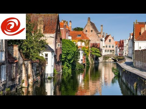 Motorhome Route to Bruges Aire de Camping - Car, Belgium