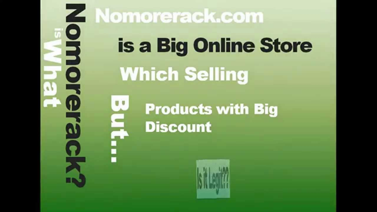 Is Nomorerack Scam Or Not Watch This Com Reviews