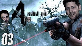 Mutierte Kultisten außer Kontrolle | Resident Evil 4 mit Simon, Gregor & Fabian #03