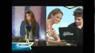 """Miley Cyrus: """"Zac Efron é um gato"""" (legendado)"""