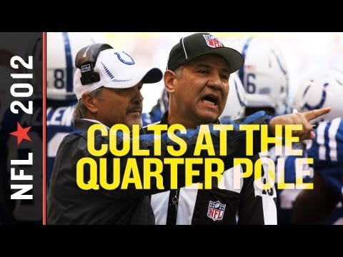 Indianapolis Colts 2012 Quarter Pole Awards and Analysis