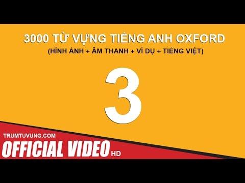 3000 Từ Vựng Tiếng Anh Oxford (Phụ Đề + Hình Ảnh + Ví dụ + Dịch): Part 3/4