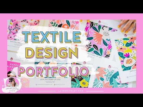 Textile Designer Portfolio // Your Textile Design Portfolio MUST HAVES!!