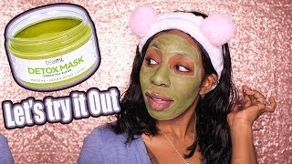 Teami Green Tea Detox Mask (Before & After)   Better Skin in One Use?