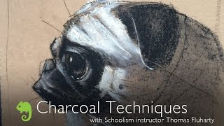Charcoal Techniques with Thomas Fluharty
