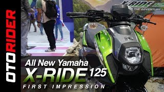 All New Yamaha X-Ride 125 2017 First Impression Review – Indonesia l OtoRider