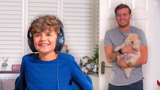Dad SURPRISED Son with a PUPPY (EMOTIONAL)