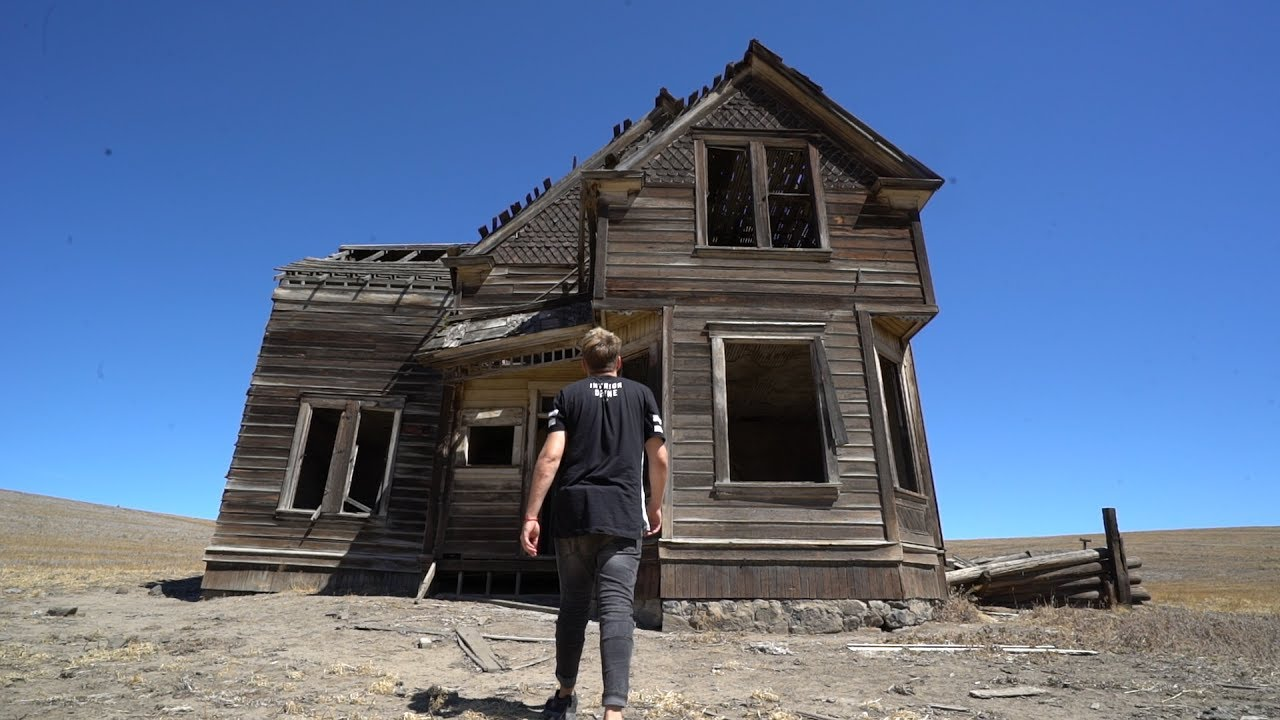 Forgotten House In Middle Of Nowhere Youtube