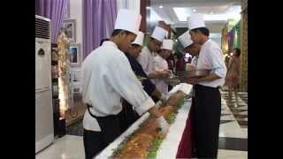 Rekor MURI,Sandwich terpanjang -Hotel Bidakara Jakarta