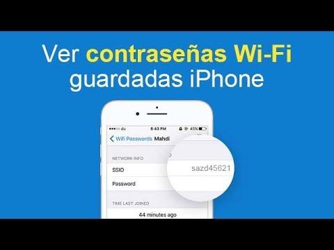 2 Formas De Ver Contrasenas Wi Fi Guardadas En Iphone Con O Sin