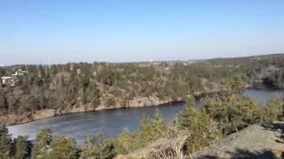 SmillaVanilla tar UTSIKTSBERGET under en episk cykeltur österut