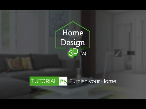 Home Design 3d Tuto 5 Furnish Your Home Youtube