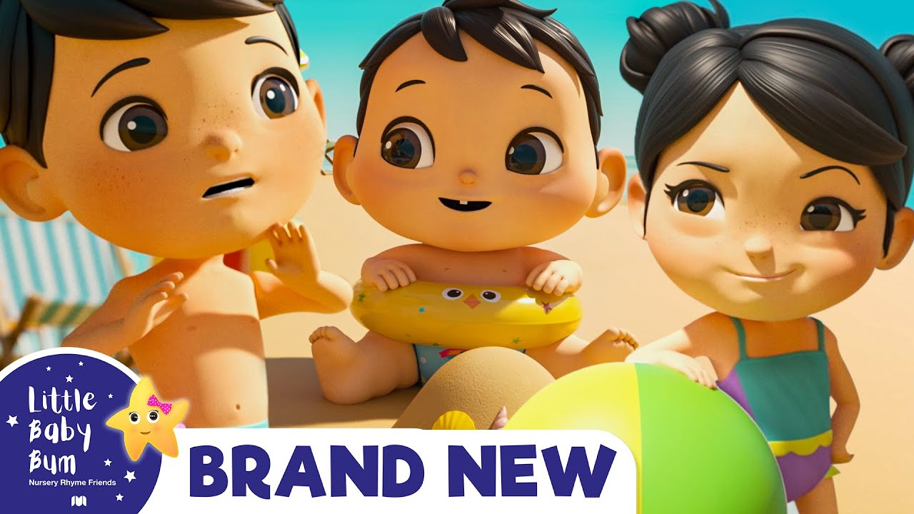 Family Holiday is Fun!   Brand New   Nursery Rhymes & Kids Songs   ABCs and 123s   Little Baby Bum