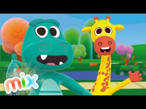 Животные зоопарка - сборник детских песен! | Детское Королевство