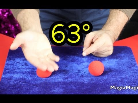 63° Easy Magic Trick Sponge Ball lesson