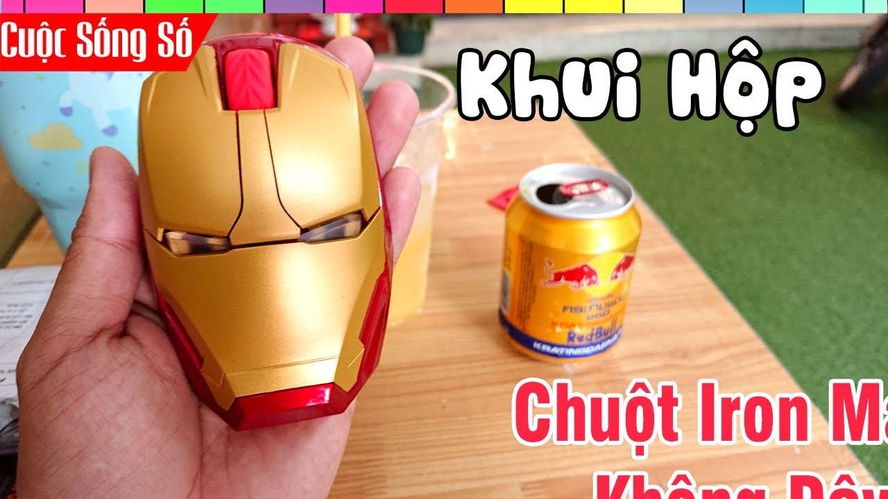 Mở Hộp Chuột Iron Man Chất Lừ Mua Online Shopee nước ngoài 📺 Cuộc Sống Số 📺