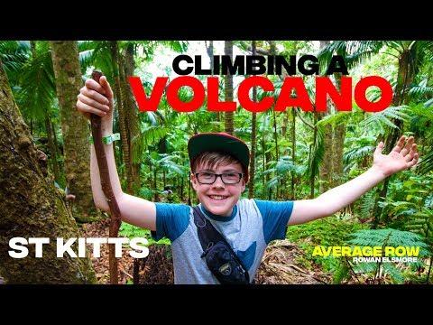St Kitts Mount Liamuiga Volcano Hike