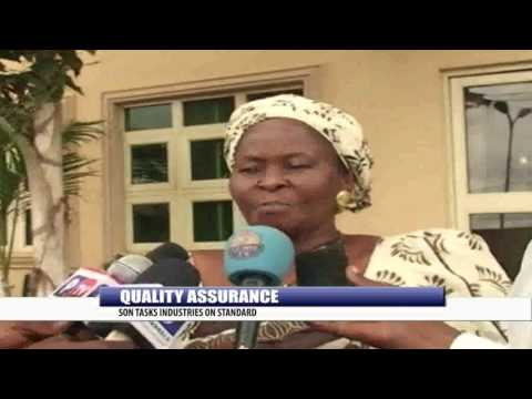 QUALITY ASSURANCE: SON TASKS INDUSTRIES ON STANDARD