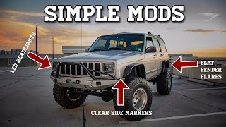 MAKE YOUR JEEP STAND OUT! SIMPLE MODS THAT WILL CHANGE THE LOOK OF YOUR JEEP!