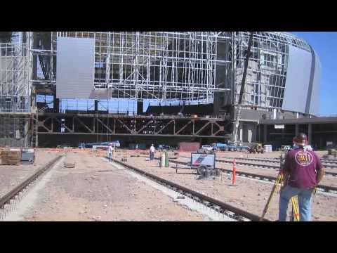 University of Phoenix Stadium Construction