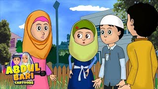 Umar and Abdullah Defaming Azhar Abdullah series Urdu Islamic Cartoons for children