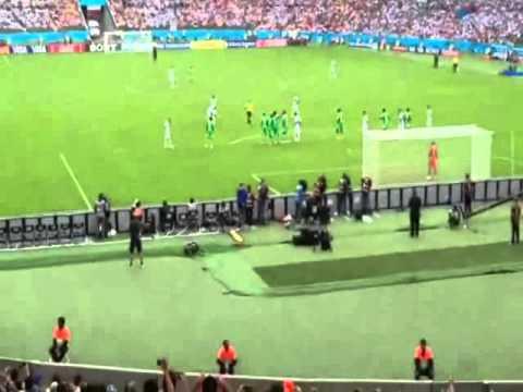 Argentina 3 - Nigeria 2 | Mundial Brasil 2014 | Gol de Messi (Relato de Fantino)