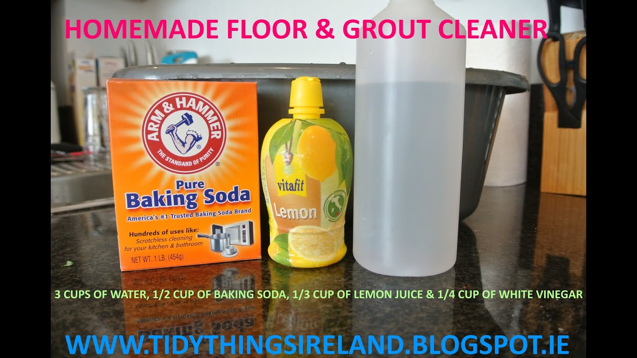 Homemade Floor Cleaner With Vinegar And Baking Soda