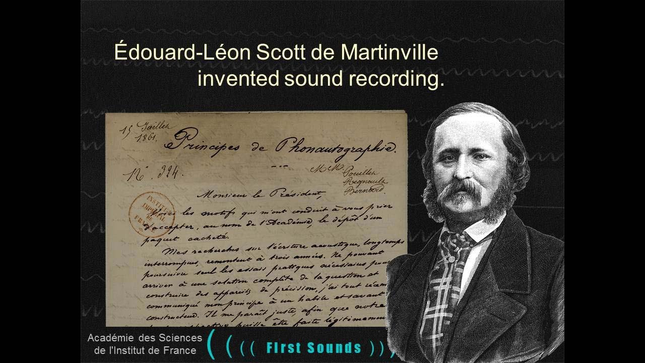 FIRST SOUNDS: Humanity's First Recordings of Its Own Voice