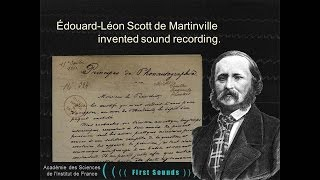 FIRST SOUNDS: Humanity's First Recordings of Its Own Voice thumbnail