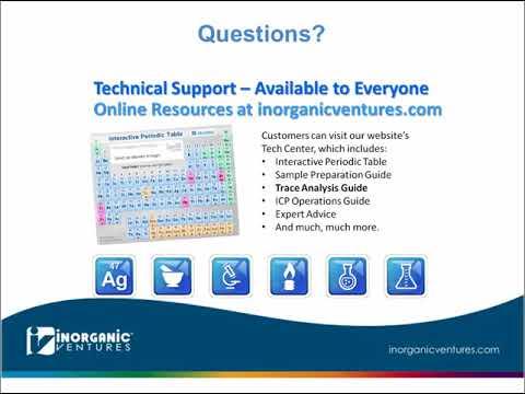 Webinar Series - USP 232/Q3D Changes