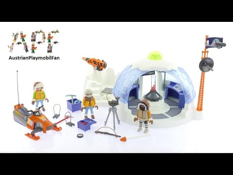 Playmobil Action 9055 Polar Ranger Headquarters - Playmobil Build Review