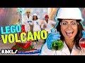 LEGO Elephant Toothpaste Volcano Experiment!– REBRICKULOUS