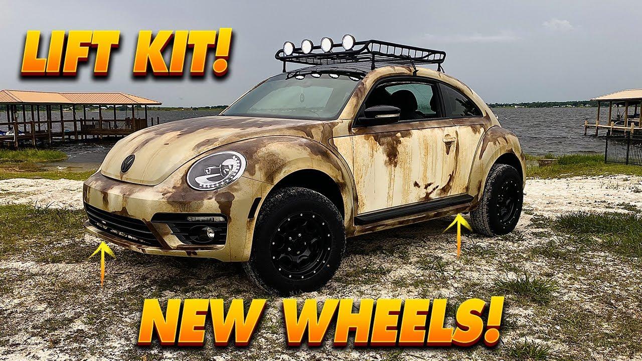 Installing a Lift Kit on a Volkswagen Beetle - Episode 9